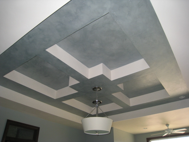 Faux Finish Tray Ceiling